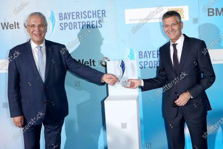 Joachim Herrmann +and Herbert Hainer