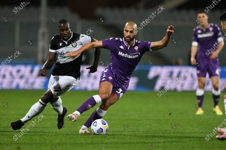 Editorial image of ACF Fiorentina vs Udinese Calcio, Italian Serie A, Florence, Italy - 25 Oct 2020