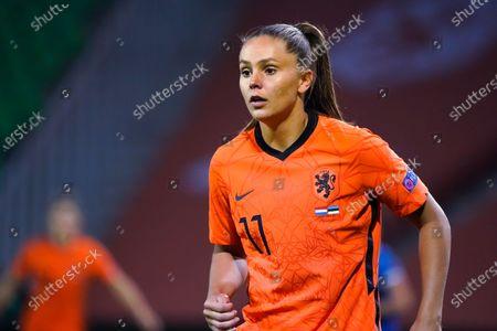 Lieke Martens during European qualification match Netherlands-Estland women on Oktober, 23 2020 in Groningen Netherlands