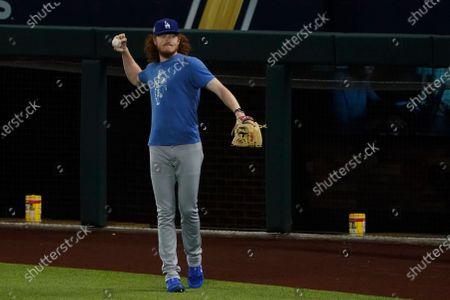 World Series Dodgers Rays Baseball, Arlington, United States - 25 Oct 2020 témájú szerkesztői fotó