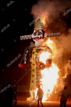 Editorial picture of Dussehra festival in Bhopal, India - 26 Oct 2020