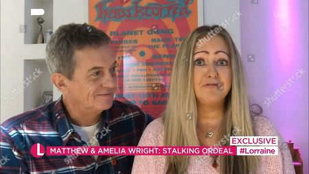 Stock Picture of Matthew Wright and Amelia Wright