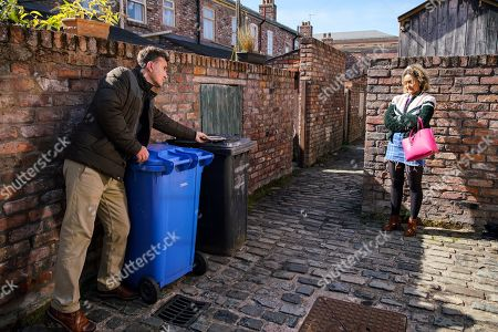 Editorial photo of 'Coronation Street' TV Show, UK - 2020