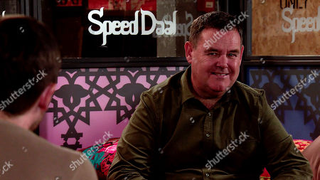 Coronation Street - Ep 10152 Monday 26th October 2020 - 2nd Ep Over dinner, Todd Grimshaw tries to belittle George Shuttleworth, as played by Tony Maudsley, but George gives him short shrift.