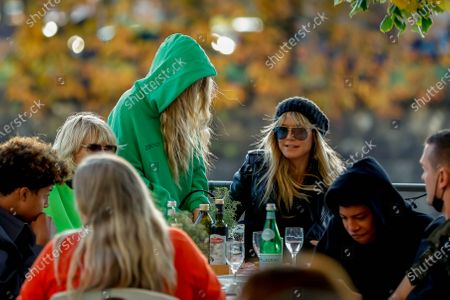 Stock Picture of Heidi Klum, Helene Leni Boshoven Samuel, Heidi Klum goes sightseeing with family in Berlin