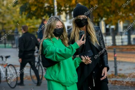Editorial picture of Heidi Klum out and about, Berlin, Germany - 25 Oct 2020