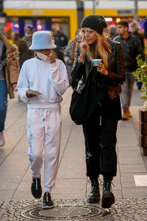 Editorial photo of Heidi Klum out and about, Berlin, Germany - 25 Oct 2020