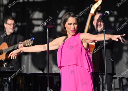 Stock Photo of China Forbes, Pink Martini