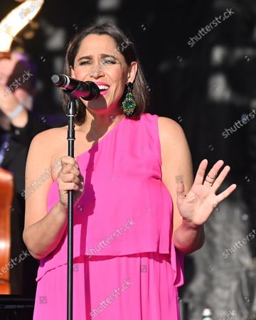 Stock Picture of China Forbes, Pink Martini