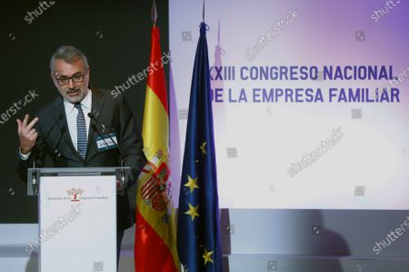 Editorial image of King Felipe chairs 23rd National Congress of the Family Business, Madrid, Spain - 26 Oct 2020