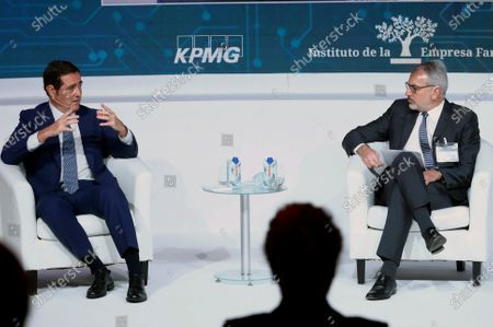 Editorial picture of King Felipe chairs 23rd National Congress of the Family Business, Madrid, Spain - 26 Oct 2020