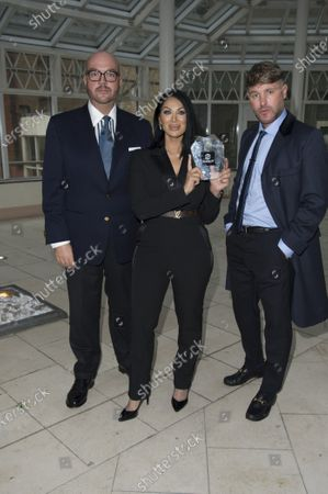 Jonathan Sothcott, Jeanine Nerissa Sothcott, Danny Bear, Virtual awards for SME News, Greater London Enterprise Awards, awards Shogun Films, Best emerging Independent Film Production UK award.