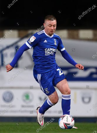 Freddie Sears of Ipswich Town - Ipswich Town v Gillingham, Sky Bet League One, Portman Road, Ipswich, UK - 27th October 2020Editorial Use Only - DataCo restrictions apply
