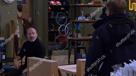 Emmerdale - Ep 8888 Friday 13th November 2020 Jimmy King, as played by Nick Miles, convinces Will Taylor, as played by Dean Andrews, to join him on a kayak adventure since Nicola turned him down.