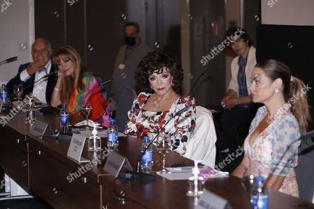 Jane Seymour, Joan Collins and Denise Richards