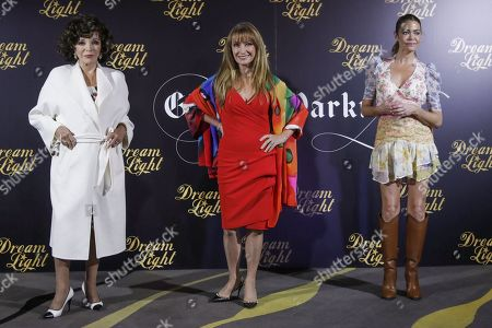 Joan Collins, Jane Seymour and Denise Richards