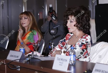 Jane Seymour and Joan Collins