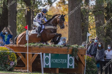 Editorial photo of Equitation - Concours Complet Cross - CCI 5 Etoiles, France - 24 Oct 2020