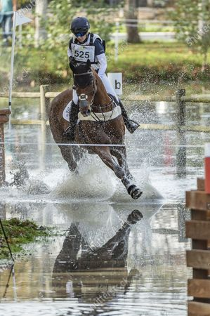 Editorial image of Equitation - Concours Complet Cross - CCI 5 Etoiles, France - 24 Oct 2020