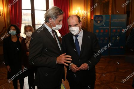 Patrick de Carolis and Jean Castex.