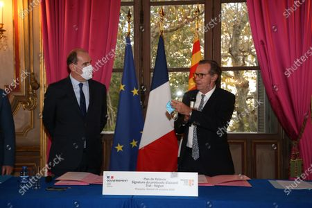 Jean Castex and Renaud Muselier.