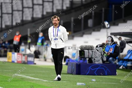 Marseille coach Andre Villas Boas