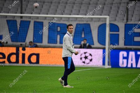 Marseille assistant coach Ricardo Carvalho