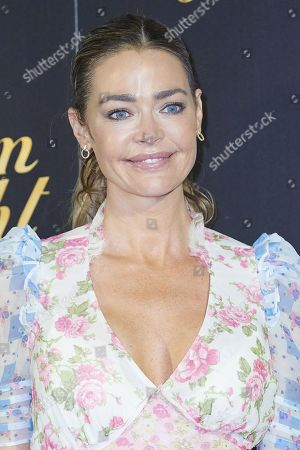 Denise Richards attends 'Glow and Darkness' photocall at Palace Hotel on October 26, 2020 in Madrid, Spain