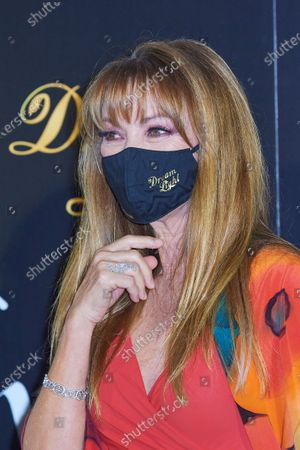Jane Seymour attends 'Glow and Darkness' photocall at Palace Hotel on October 26, 2020 in Madrid, Spain