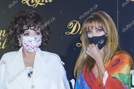 Editorial picture of 'Glow and Darkness' photocall, Madrid, Spain - 26 Oct 2020