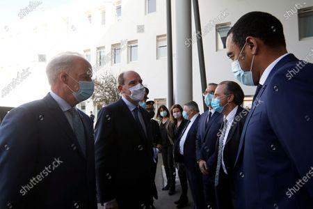 Olivier Veran, Jean Castex, Said Ahamada, Renaud Muselier.