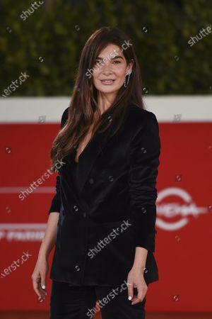 Italian actress Ilaria Spada