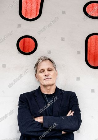 Viggo Mortensen poses at a presscall in Copenhagen, Denamrk, 26 October 2020, prior to the opening of his new movie 'Falling'. The film is Mortensen's debut as director and screenwriter and opens in Danish theaters on 04 November.