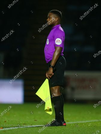 Assistant referee Akil Howson - EA Sports sleeve badge