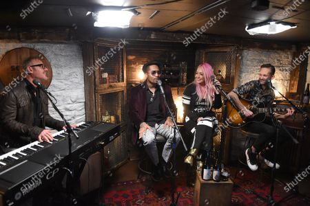 Stock Picture of Chingy performs with Meg & Tyler on the set of Phil Vassar's 'Songs from the Cellar' on Circle Television Network, in Nashville, TN. Airing October 29, 2020 on Circle @PhilVassarSFTC @circleallaccess