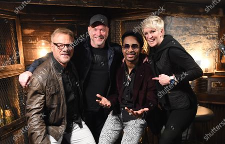 Stock Photo of Chingy performs with Meg & Tyler on the set of Phil Vassar's 'Songs from the Cellar' on Circle Television Network, in Nashville, TN. Airing October 29, 2020 on Circle @PhilVassarSFTC @circleallaccess