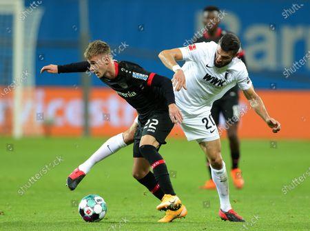 Editorial image of Bayer 04 Leverkusen vs FC Augsburg, Germany - 26 Oct 2020