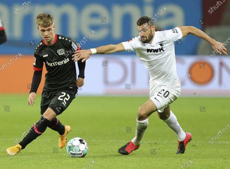Editorial photo of Bayer 04 Leverkusen vs FC Augsburg, Germany - 26 Oct 2020