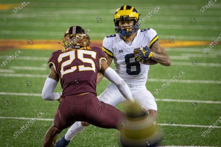 Editorial photo of Michigan Minnesota Football, Minneapolis, United States - 24 Oct 2020