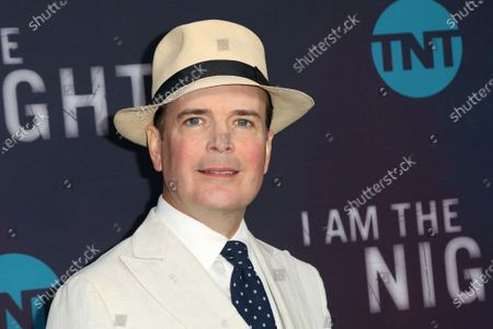 """Stock Image of Jefferson Mays arrives at the """"I Am the Night"""" FYC event in Los Angeles on . Mays, who won a Tony Award for playing 40 characters in """"I Am My Own Wife"""" and was nominated for another for playing nine roles in """"A Gentleman's Guide to Love and Murder,"""" is readying a new one-man version of """"A Christmas Carol"""" for the holidays, playing some 50 characters"""
