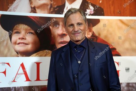 Viggo Mortensen poses at the premiere of his film 'Falling' in Copenhagen, Denmark, 26 October 2020. The film is Mortensen's debut as director and screenwriter and opens in Danish theaters on 04 November.