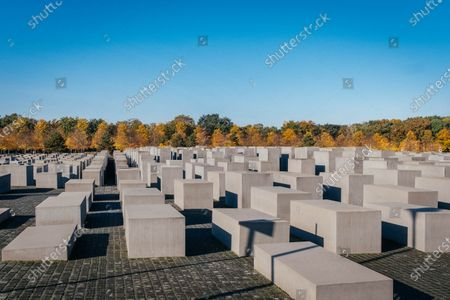 Memorial to the Murdered Jews of Europe - 2,711 concrete slabs.