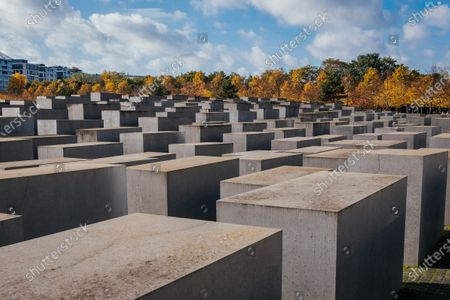 Editorial picture of Memorial to the Murdered Jews of Europe, Platz der Republik, Berlin, Germany - 24 Oct 2020