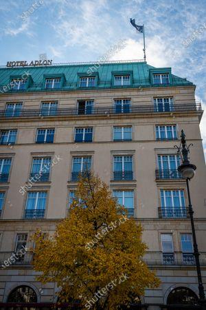 The Hotel Adlon Kempinski Berlin where Michael Jackson famously dangled his son, Prince Michael II, over the balcony.