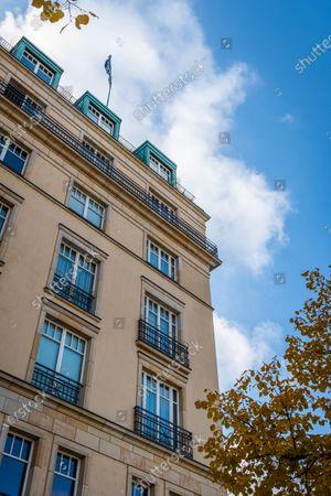 Editorial image of Hotel Adlon Kempinski, Berlin, Germany - 24 Oct 2020