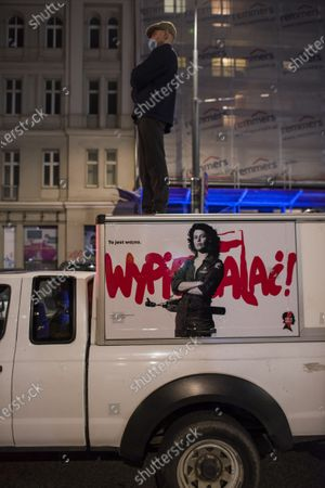Editorial photo of Abortion bill protest day 5 in Warsaw, Poland - 26 Oct 2020