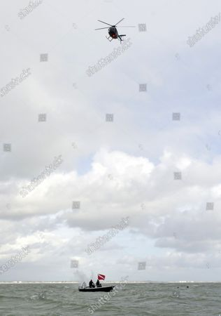 Editorial picture of John Bream sets world record jump, Hants, UK - 26 Oct 2020