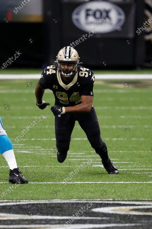 Editorial photo of Panthers Saints Football, New Orleans, United States - 25 Oct 2020