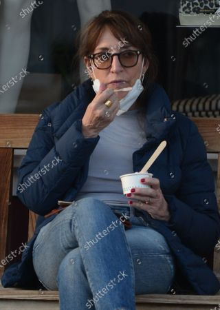 Editorial photo of Exclusive - Katey Sagal out and about, Los Angeles, California USA - 26 Oct 2020