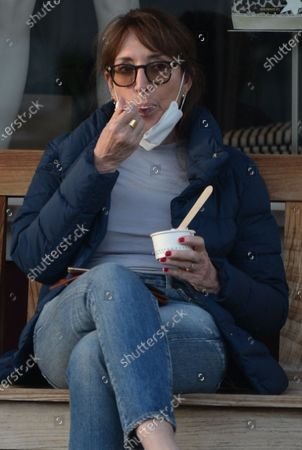 Editorial image of Exclusive - Katey Sagal out and about, Los Angeles, California USA - 26 Oct 2020